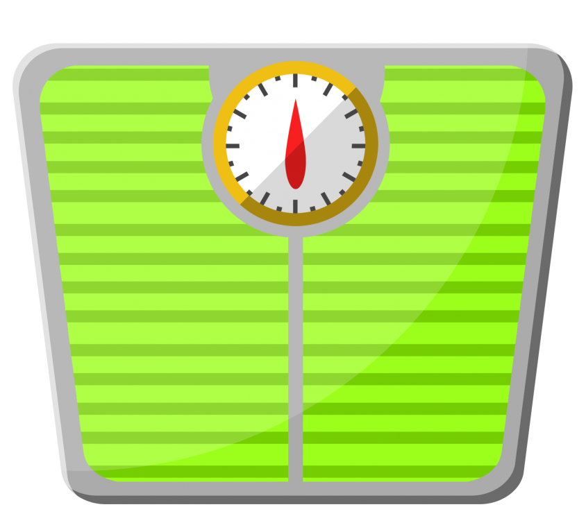 —Pngtree—a cartoon green weight scale_4562557